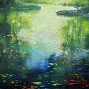 march14,17,forest stream pool,step one, oil on anodized aluminum,36x36_edited-1