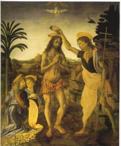 aug16,8, baptism of Jesus by John,Verrochio&Leonardoscan0001
