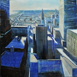 dec1612view-to-chicago-oil-on-enameled-laminated-aluminum2nd-step