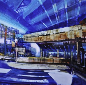 dec165cityport-authority-labyrinth-36x36-oil-on-enameled-laminanted-aluminum